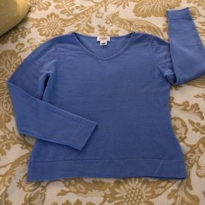 Talbots Cashmere V Neck Sweater